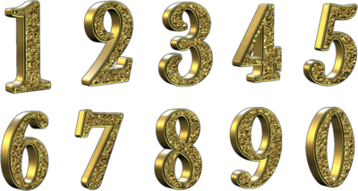 golden-3d-numbers-with-transparent-background-psd-413416