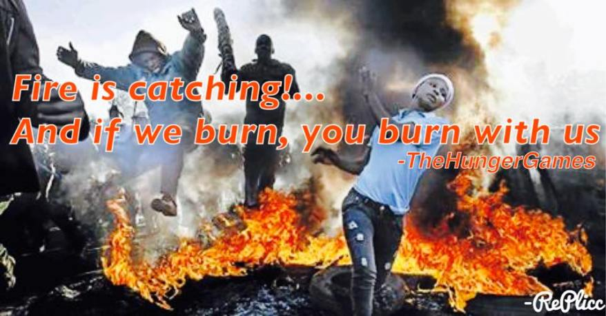 If we burn, you burn with us