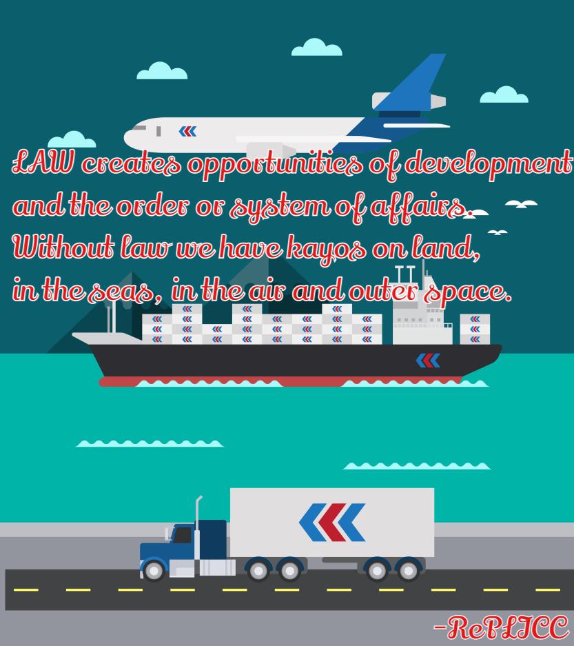 Flat Design Of Cargo Transportation Sea Air Land