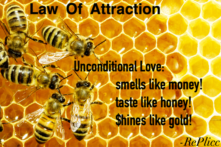 Law Of Attraction - bee