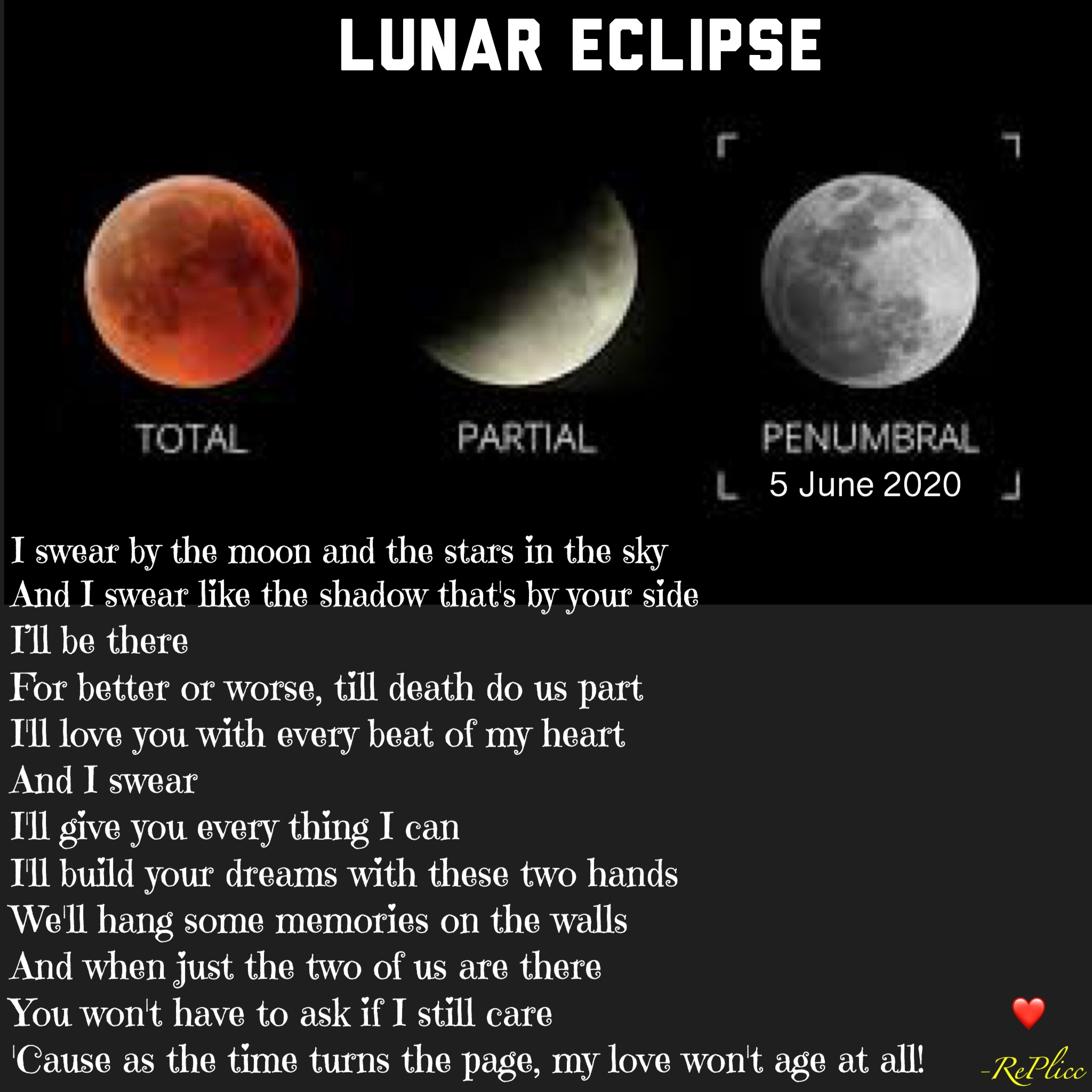 Lunar Eclipse 5 June 2020